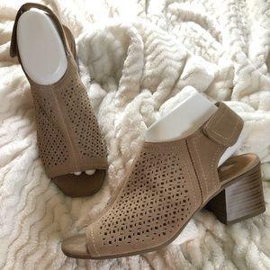 Sonoma Goods For Life Heeled Sandal, Size 9.5M